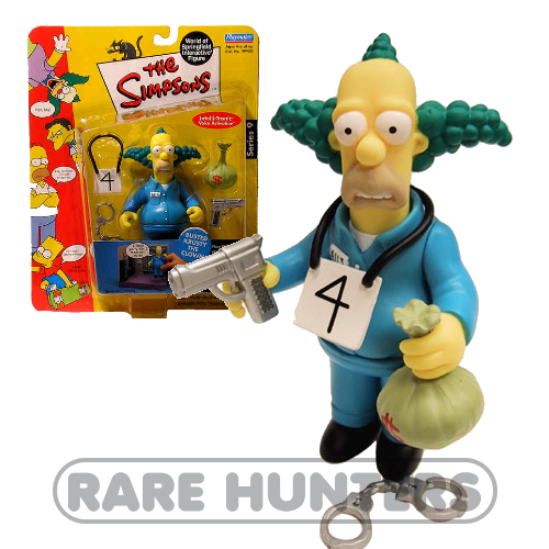 The Simpsons Busted Krusty the Clown Figure from Rare Hunters