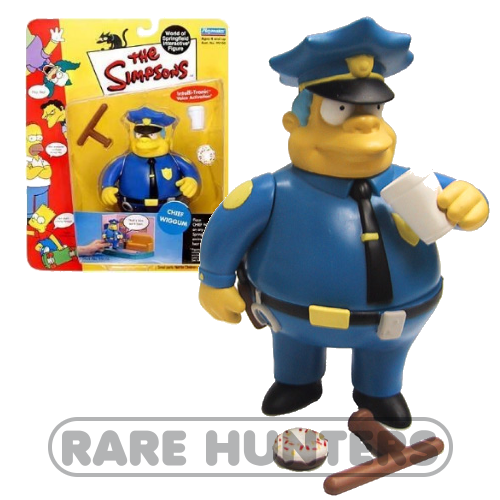 The Simpsons Chief Wiggum Figure from Rare Hunters