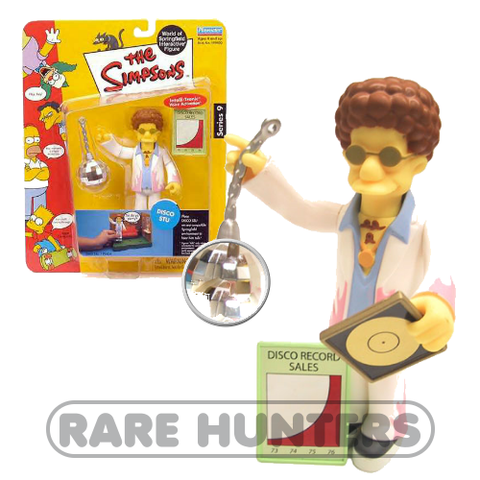 The Simpsons Disco Stu Figure from Rare Hunters