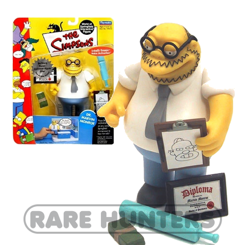 The Simpsons Dr. Marvin Monroe Figure from Rare Hunters