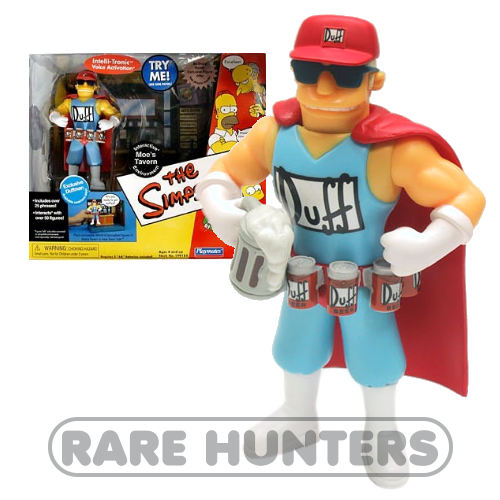 The Simpsons Duffman Moes Tavern Playset from Rare Hunters