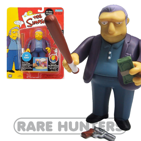 The Simpsons Fat Tony Figure from Rare Hunters