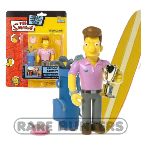 The Simpsons Freddy Quimby Figure from Rare Hunters