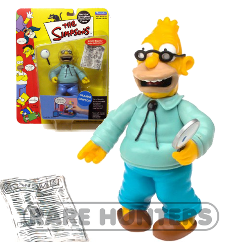 The Simpsons Grandpa Simpson Figure from Rare Hunters