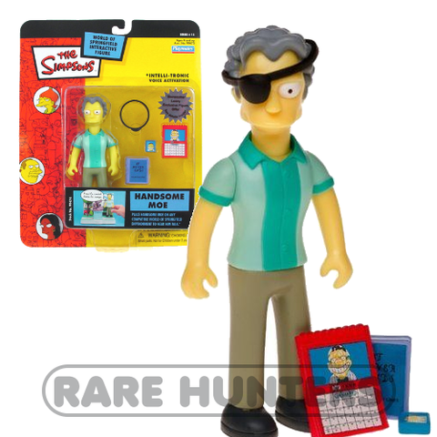 The Simpsons Handsome Moe Figure from Rare Hunters