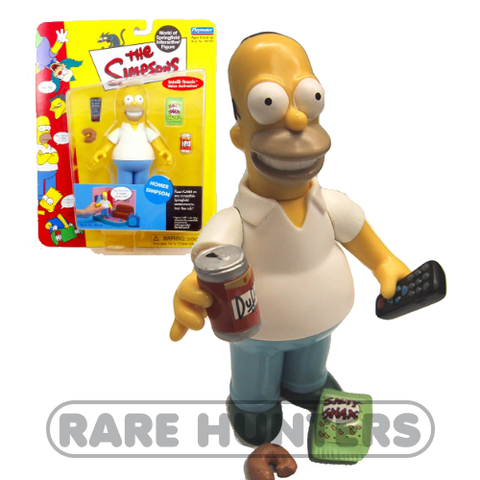 The Simpsons Homer Figure from Rare Hunters