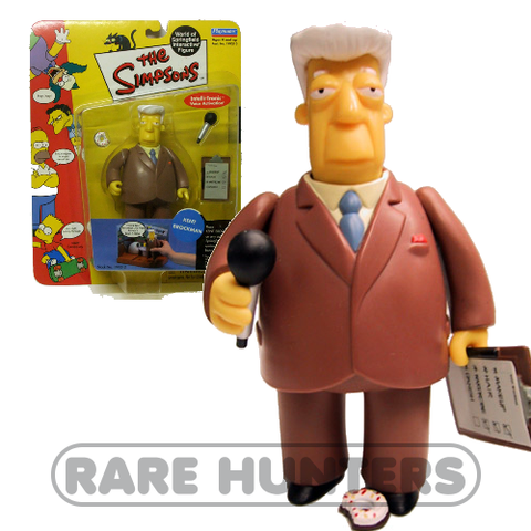 The Simpsons Kent Brockman Figure from Rare Hunters