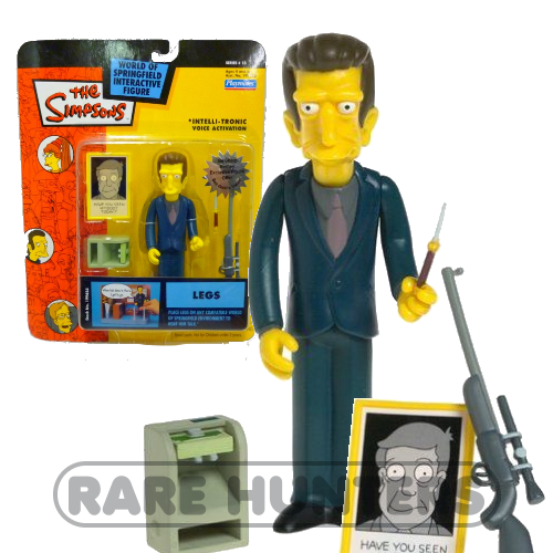 The Simpsons Legs Figure from Rare Hunters