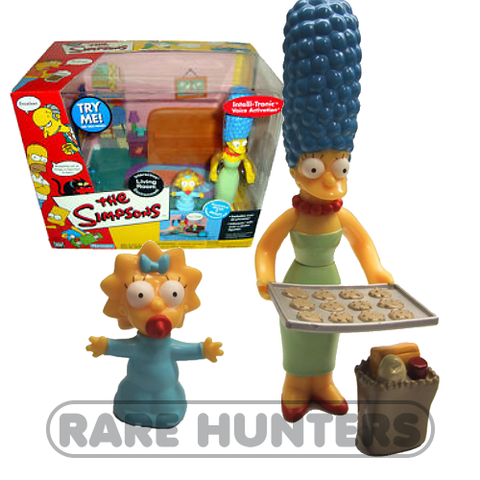 The Simpsons Marge & Maggie Living Room Playset from Rare Hunters