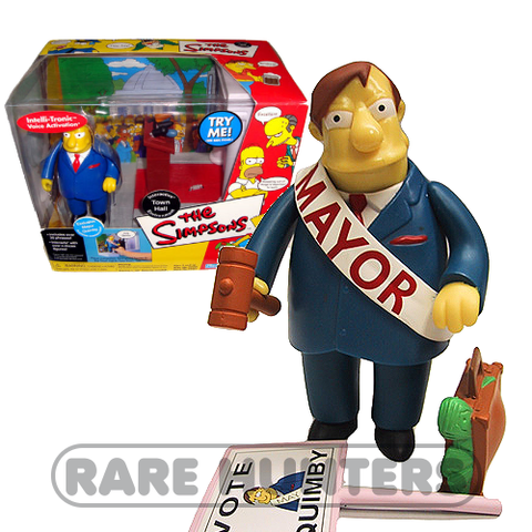 The Simpsons Mayor Quimby Playset from Rare Hunters