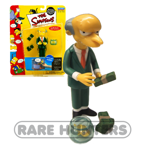 The Simpsons Mr. Burns Figure from Rare Hunters