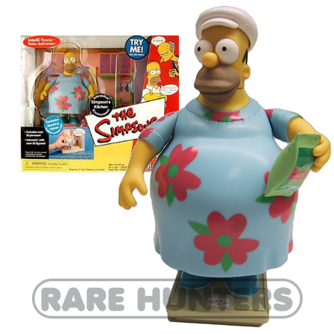 The Simpsons Muumuu Homer Playset from Rare Hunters