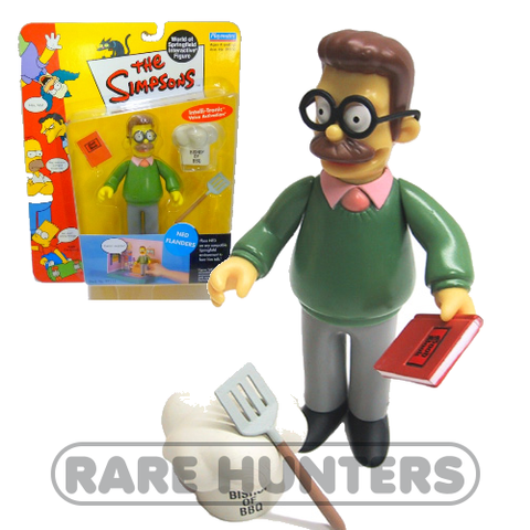 The Simpsons Ned Flanders Figure from Rare Hunters