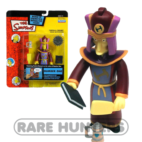 The Simpsons Number One Figure from Rare Hunters