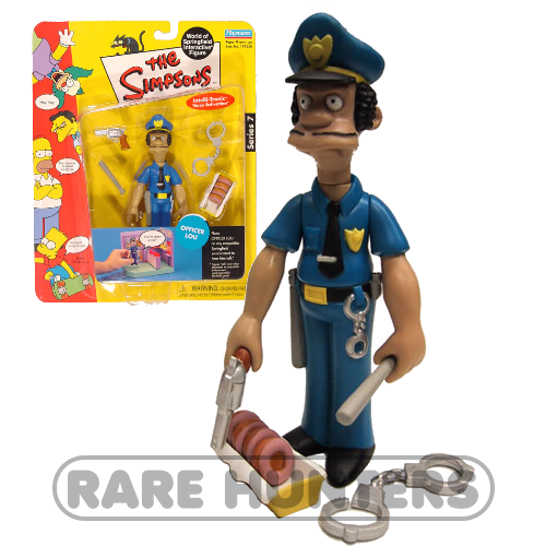 The Simpsons Officer Lou Figure from Rare Hunters