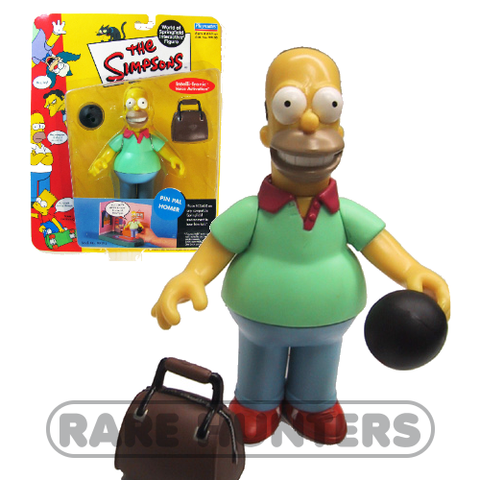 The Simpsons Pin Pal Homer Figure from Rare Hunters