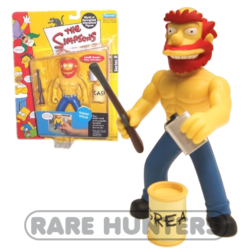 The Simpsons Ragin Willie Figure from Rare Hunters