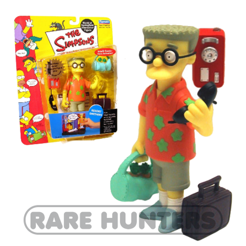 The Simpsons Resort Smithers Figure from Rare Hunters