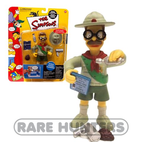 The Simpsons Scout Leader Flanders Figure from Rare Hunters