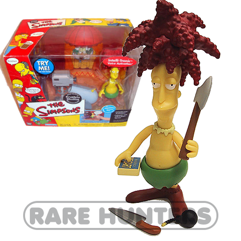 The Simpsons Sideshow Bob Playset from Rare Hunters