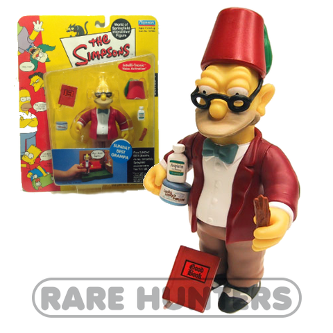 The Simpsons Sunday Best Grandpa Figure from Rare Hunters