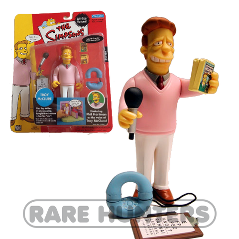 The Simpsons Troy McClure Figure from Rare Hunters