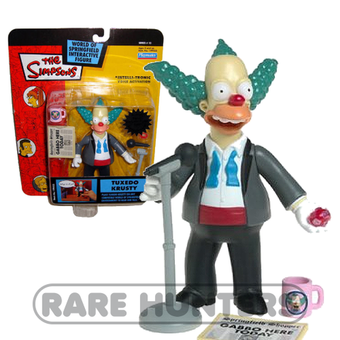 The Simpsons Tuxedo Krusty Figure from Rare Hunters