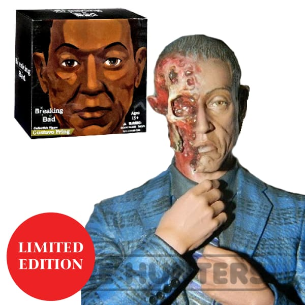 Breaking Bad Gus Fring Burned Face 6-Inch Figure Action