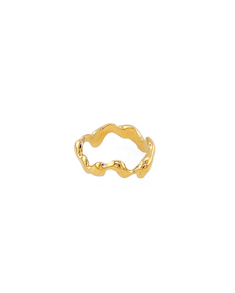 IDAMARI Himmin Ring in 18k Gold Plated in Sterling Silver