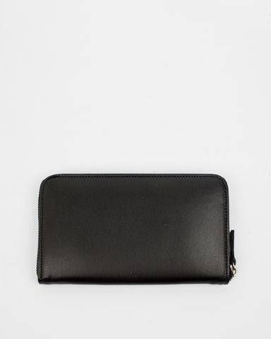 Le Bas Zip Wallet in Black