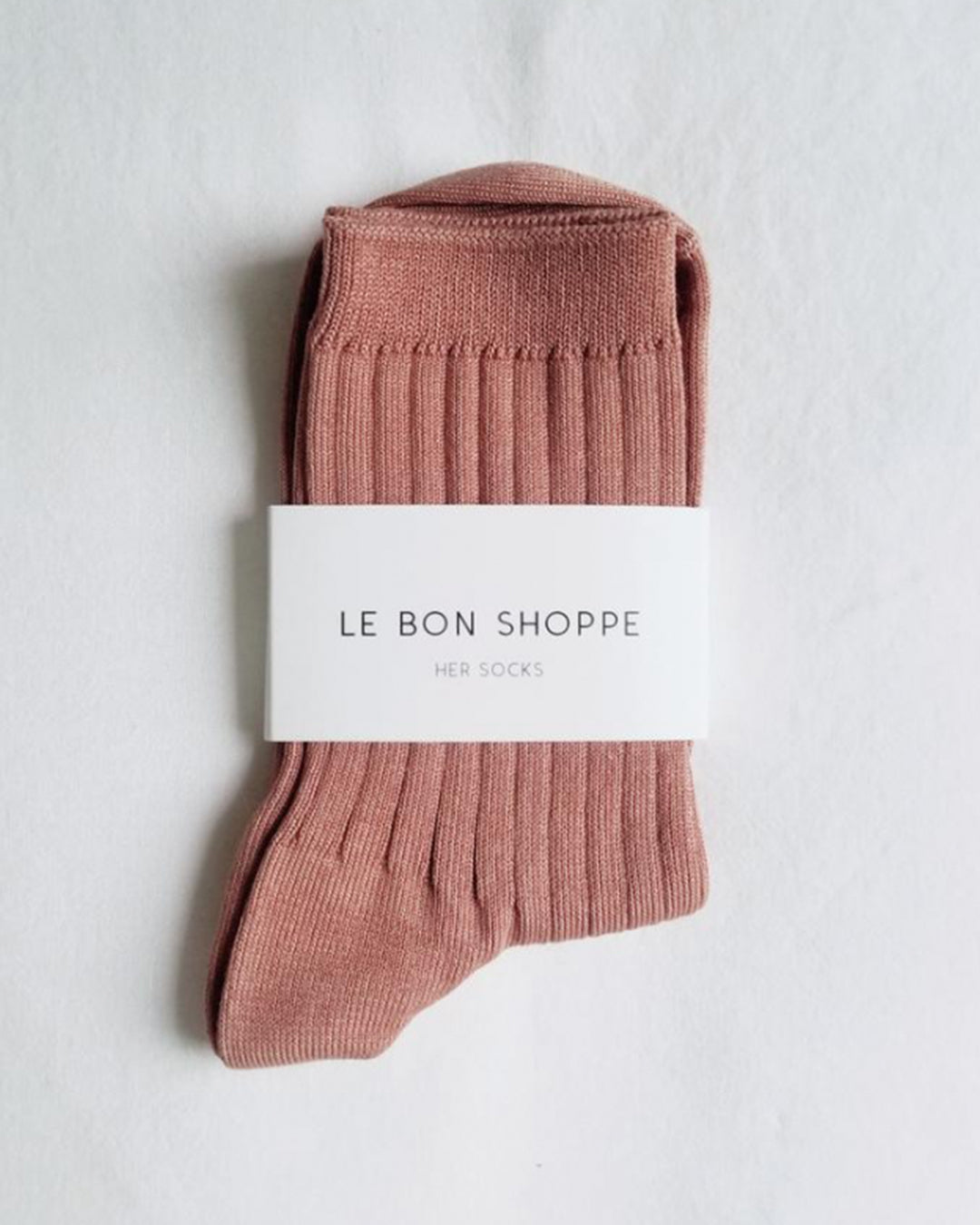 Le Bon Shoppe Her Socks in Nude Peach