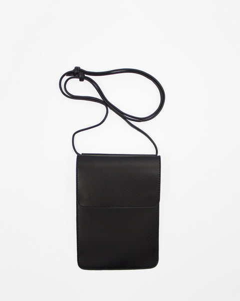 Le Bas Shoulder Bag S3 Leather Bag in Black available at Lahn