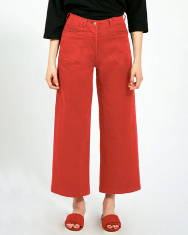 Simone Jeans in Red