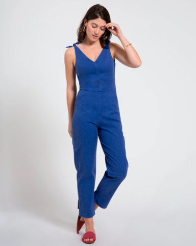 Slate Coveralls in Royal