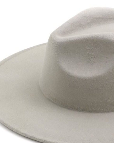 PERSONS Vegan Felt Travelers Hat in Smoke