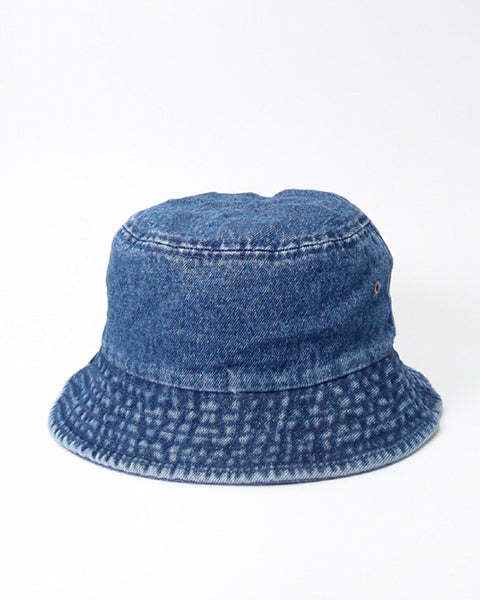 PERSONS Vintage Wash Denim Bucket Hat