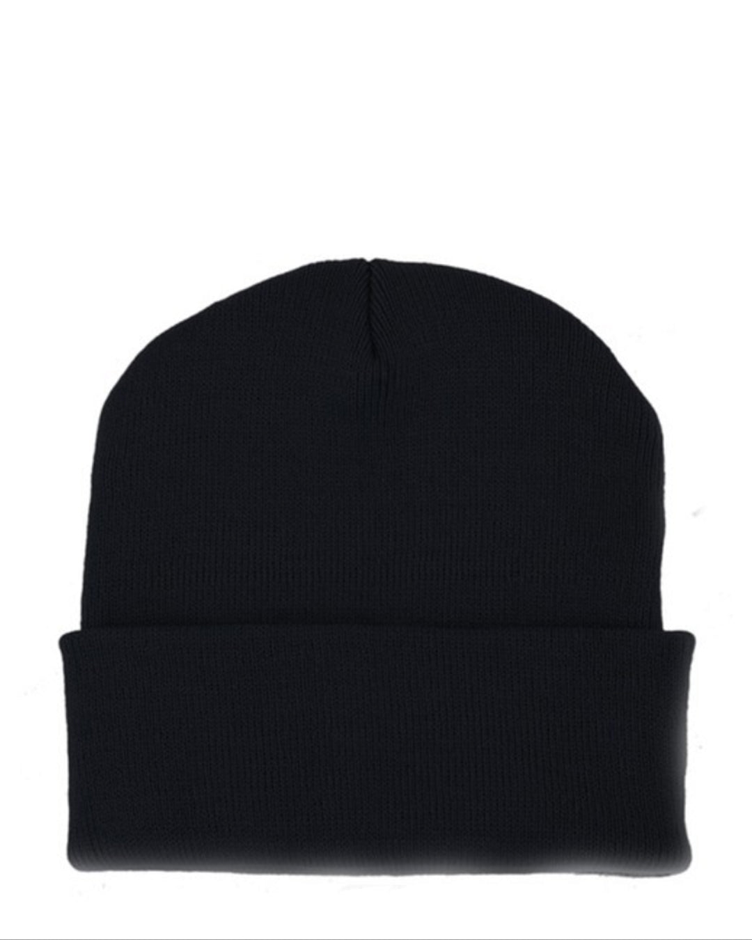 Persons Classic Knit Beanie in Black