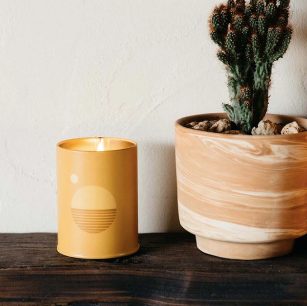 Sunset Soy Candle in Golden Hour from P.F. Candle Co. available at Lahn