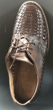 Load image into Gallery viewer, Mens Leather Mexican Shoes. Zapatos de Hombre, Brown Color