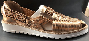 Womens Leather Artesanian Sandals. Huarache, Mexican Shoes