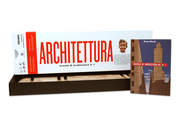 Bruno Munari ARCHITECTURE BOX MC1 - NEW EDITION