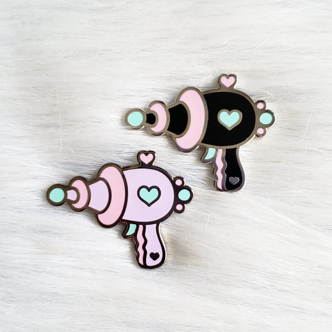 ♡ Cute Ray Gun Enamel Pin ♡