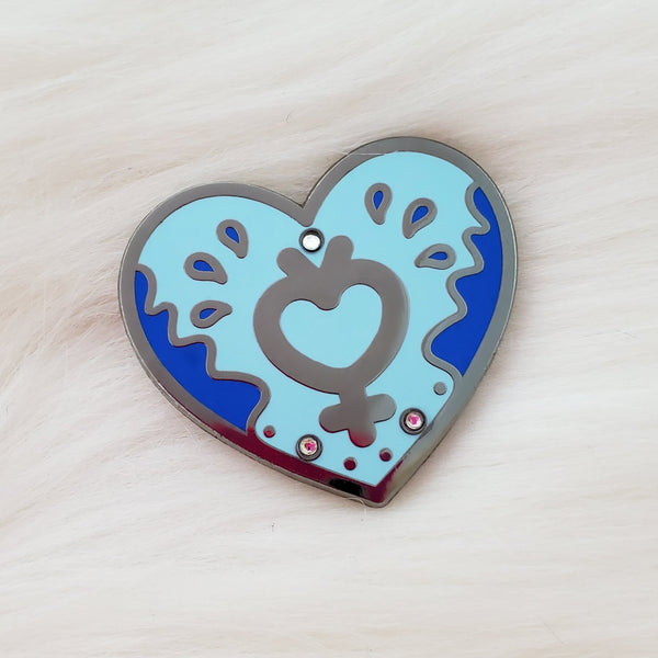 ♡ Cosmic Heart Enamel Pins ♡