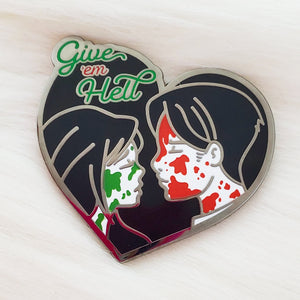 ♡ LE Give 'em Hell Enamel Pin  ♡