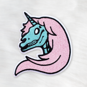 ♡ Deadicorn Iron-On Patch ♡