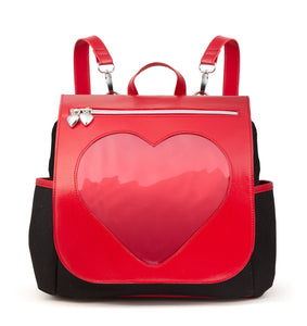 ♡ Drawstring Heart Casual Ita Bag ♡