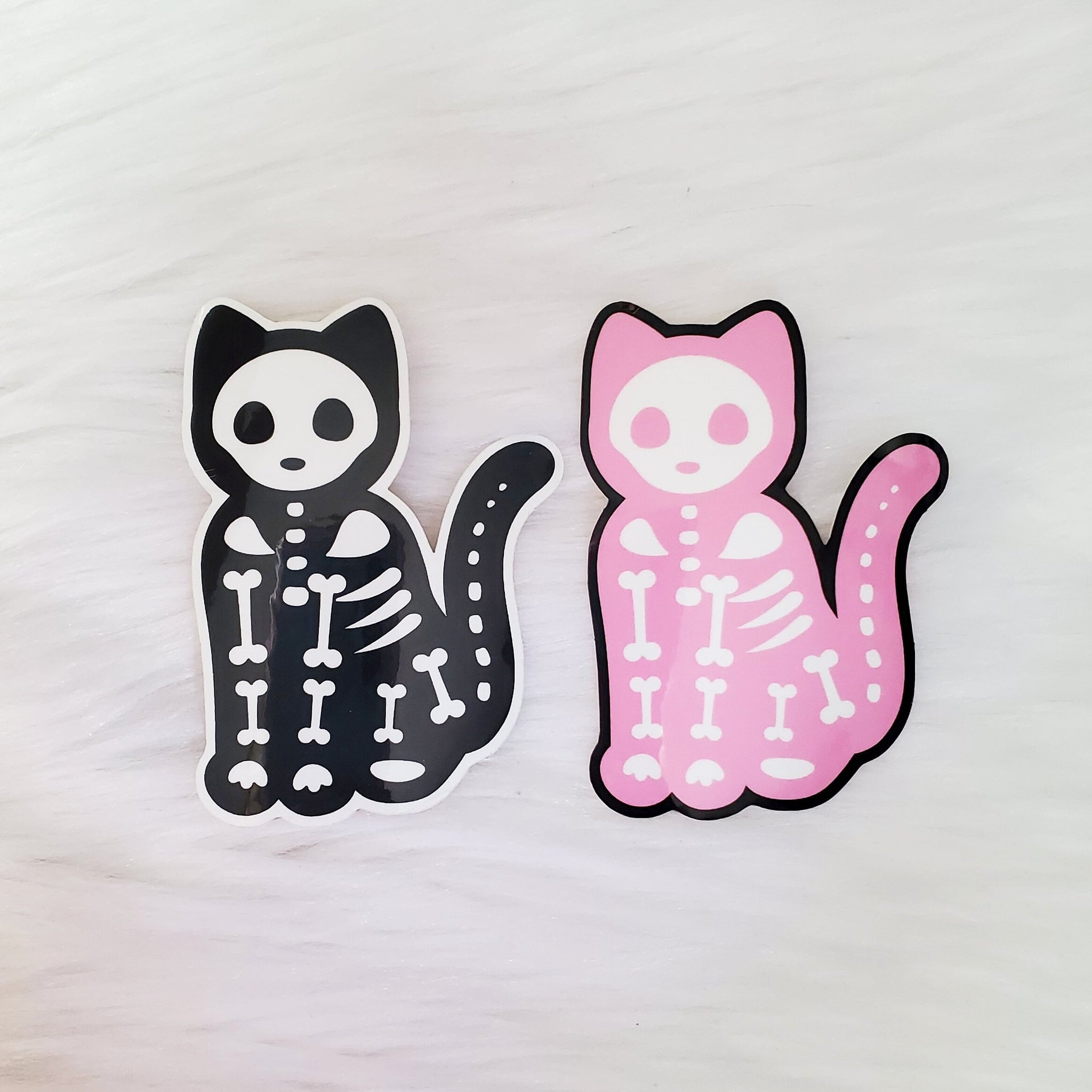 ♡ Skelekitty Stickers ♡