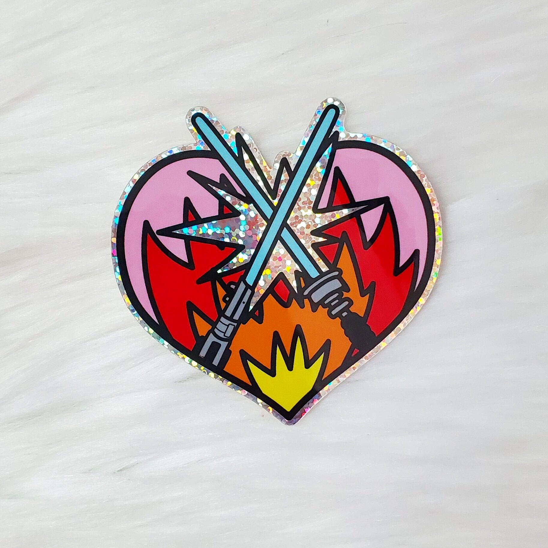 ♡ HOLOGRAPHIC A Duel Between Brothers Sticker ♡