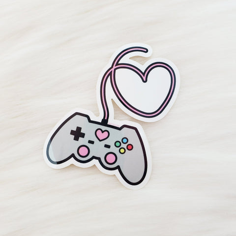 ♡ Gamer Grrl Sticker ♡