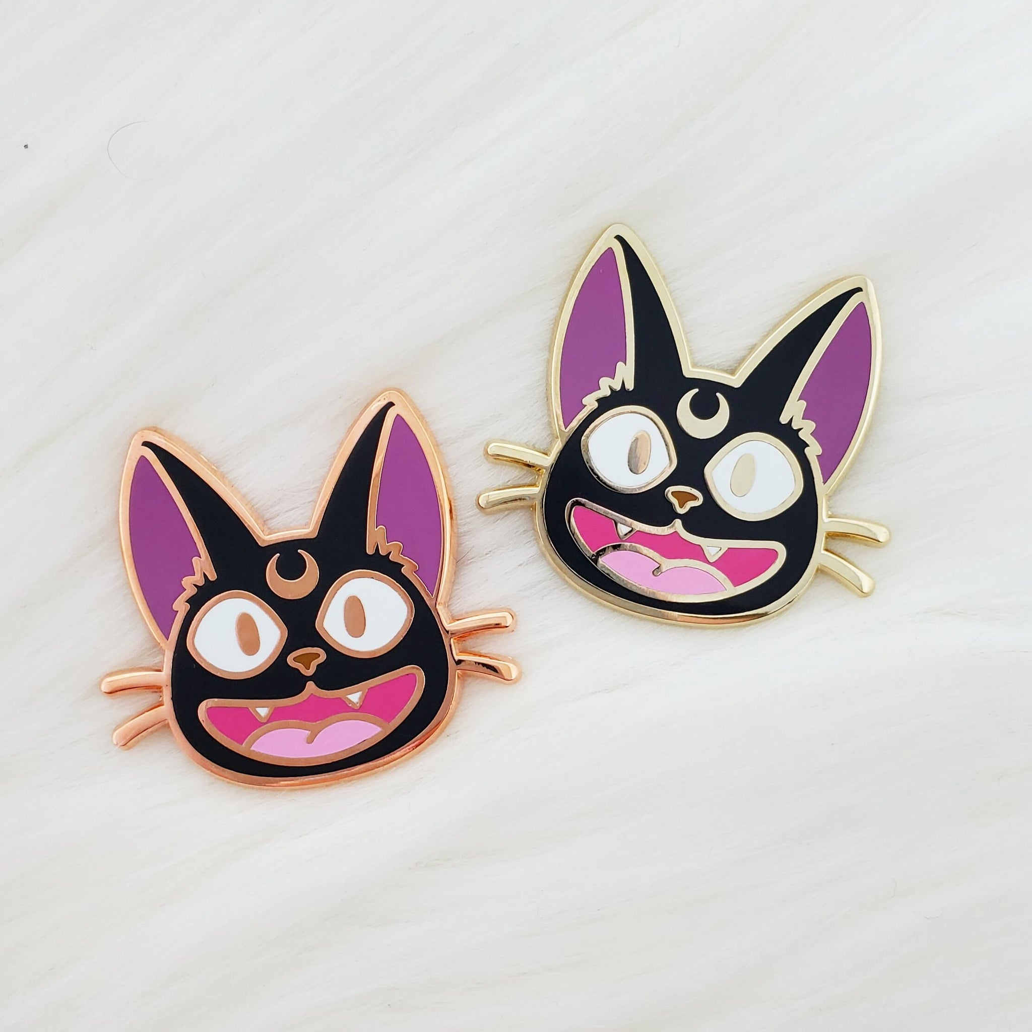 ♡ Jiji Moon Enamel Pin ♡